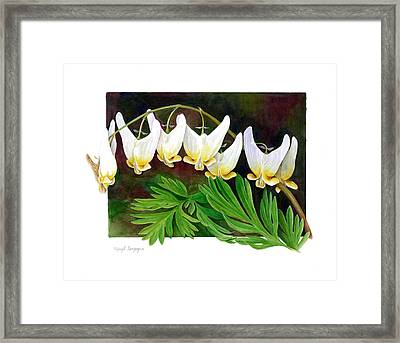 Framed Print featuring the painting Dutchman by Margit Sampogna