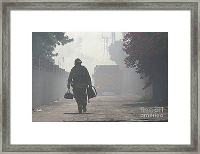 Duty Calls Framed Print