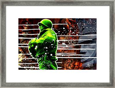 Duty Honor Country Framed Print by Michael Figueroa