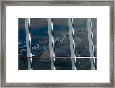 Framed Print featuring the photograph Duxford Dakota Daydream by Gary Eason