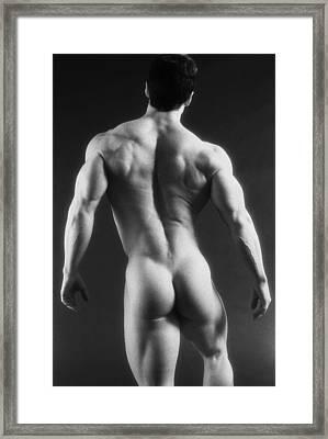 Dwain Leland 3 Framed Print by Thomas Mitchell