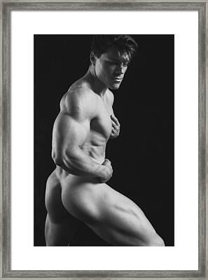 Dwain Leland 7 Framed Print by Thomas Mitchell