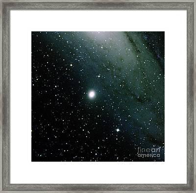 Dwarf Elliptical Galaxy, M32, Ngc 221 Framed Print by Bill Schoening/Vanessa Harvey/REU Program/NOAO/AURA/NSF