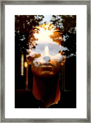 Dwayne Framed Print by Jez C Self