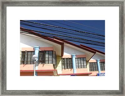 Dwellings Framed Print by Jez C Self