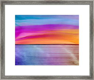 Dwindle By Day Framed Print