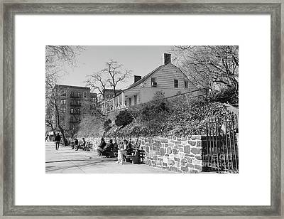 Dyckman Farmhouse  Framed Print