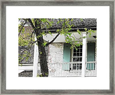 Dyckman House 3 Framed Print by Sarah Loft