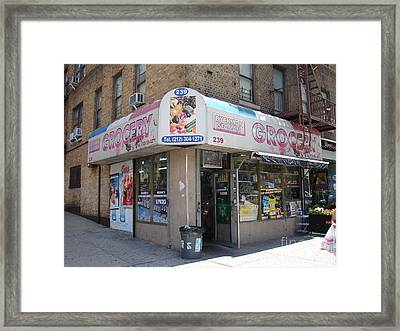 Dyckman Seaman Grocery  Framed Print by Cole Thompson