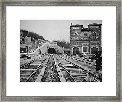 Framed Print featuring the photograph Dyckman Street Station by Cole Thompson
