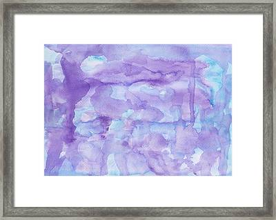 Dyed Water Framed Print
