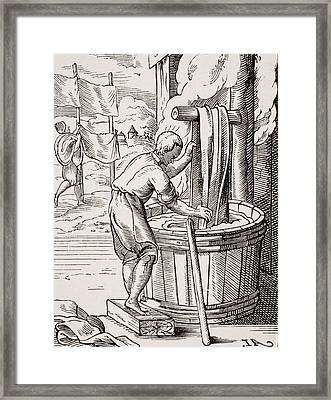 Dyer. 19th Century Reproduction Of 16th Framed Print