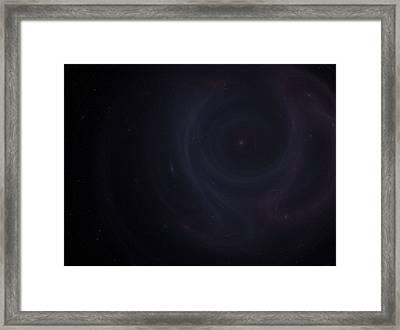 Dying Star Framed Print