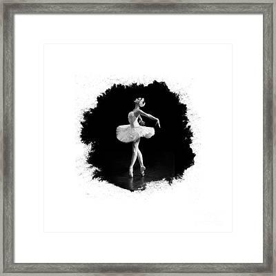 Dying Swan I T Shirt Customizable Framed Print