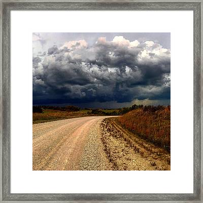 Dying Tornadic Supercell Framed Print