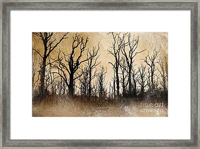 The Dying Trees Framed Print