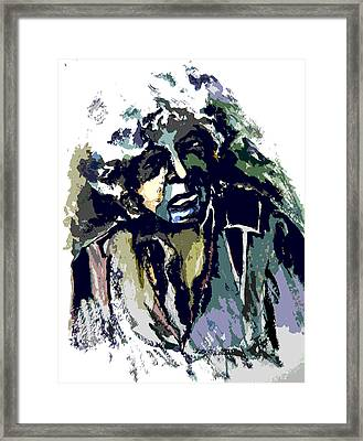 Dylan Framed Print by Mindy Newman