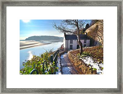Dylan Thomas Boathouse 1 Framed Print