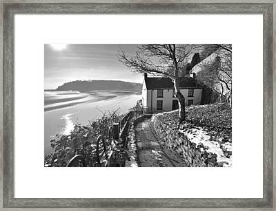 Dylan Thomas Boathouse 1b Framed Print