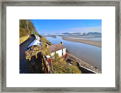 Dylan Thomas Boathouse 2 Framed Print