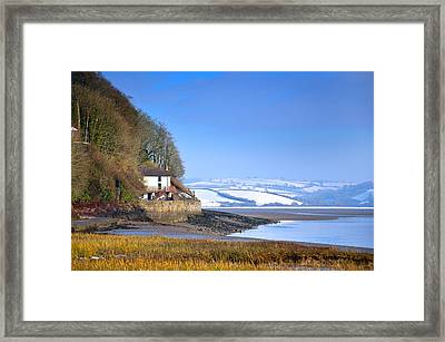 Dylan Thomas Boathouse 3 Framed Print