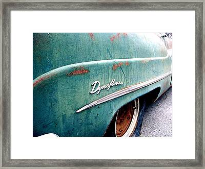 Dynaflow Blues Framed Print by Kevin D Davis