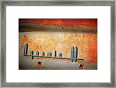 Dynamic Decay  Framed Print