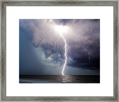 Dynamic Electricity Framed Print by Dan Wells