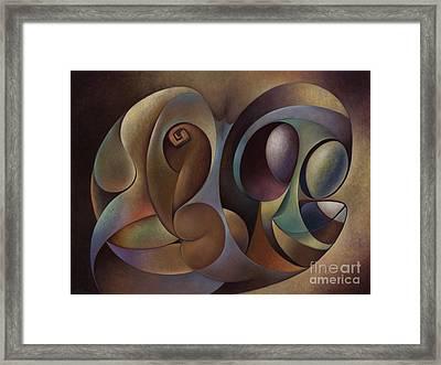 Dynamic Series #1 Framed Print by Ricardo Chavez-Mendez