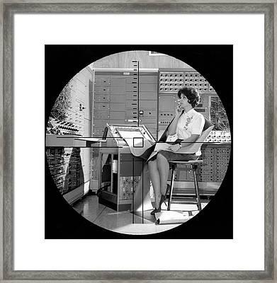 Dynamic Simulator Computer Framed Print