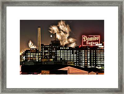 Dynamic Sugar Framed Print