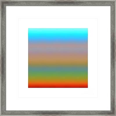 Framed Print featuring the digital art Dynamics-1a by Darla Wood