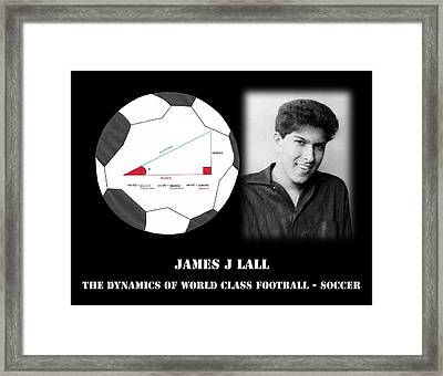 Dynamics 2 Framed Print by James j Lall