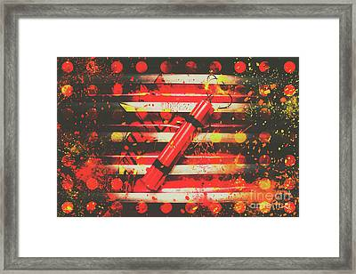 Dynamite Artwork Framed Print by Jorgo Photography - Wall Art Gallery