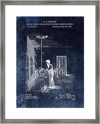 Dynamo Electric Machine Magnet Framed Print by Dan Sproul