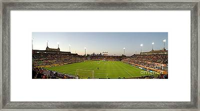 Dynamo Pano Framed Print by Scott Pellegrin