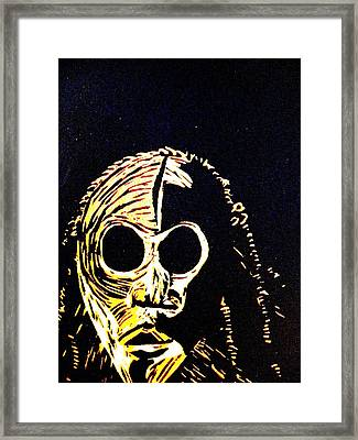 Dyspeptic Framed Print by Patricia Bigelow