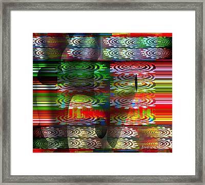 Dzine The Fredoom To Be Framed Print by Fania Simon