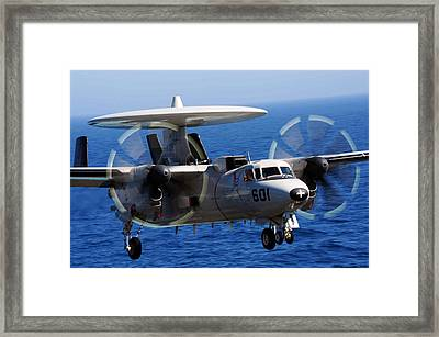 E-2c Hawkeye Us Navy Framed Print by Celestial Images