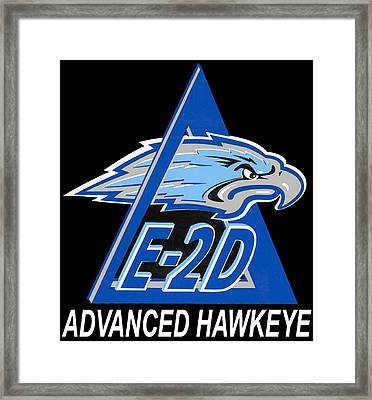 E-2d Advanced Hawkeye Framed Print