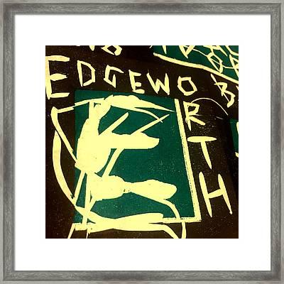 E Cd Cover Art Framed Print