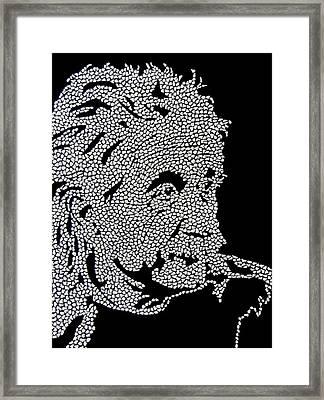 E Equals Mc Square Framed Print by Kruti Shah