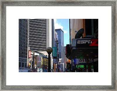 E Food  Taxi  New York City Framed Print by Rob Hans