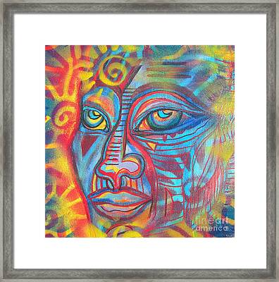 E-merges Framed Print by Anita Wexler