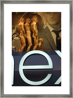 E To Human Framed Print by Jez C Self