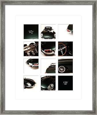E-type 1967 Framed Print by Mark Rogan