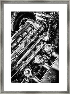 E Type Engine Framed Print