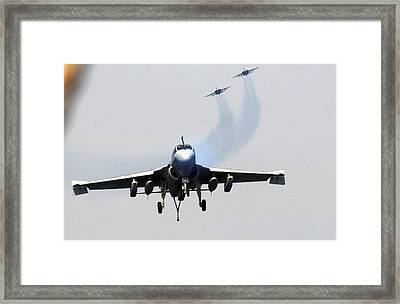 Ea-6b Prowler Us Navy Framed Print by Celestial Images