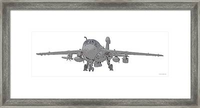Ea-6b Up And Ready Framed Print by Clay Greunke