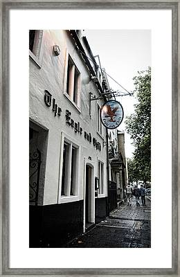 Eagle And Child Pub - Oxford Framed Print